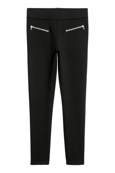 Leggings with zips Model