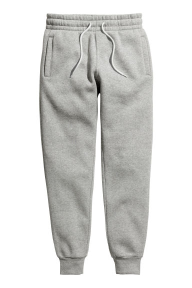 Sweatpants - Grey marl -  | H&M