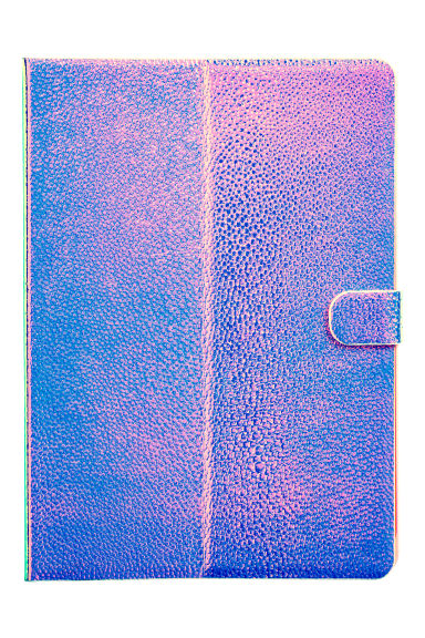 "iPad case 9.7"" - Purple/Metallic - Ladies 