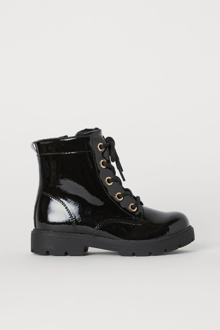 Warm-lined boots - Black - Kids | H&M GB