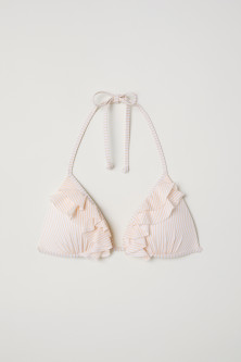 Push-up Triangle Bikini Top