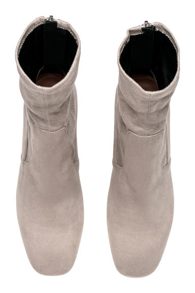 Ankle boots - Grey - Ladies | H&M CN