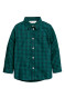 Dark green/Blue checked