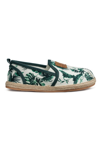 Espadrilles - White/Patterned - Kids | H&M CN
