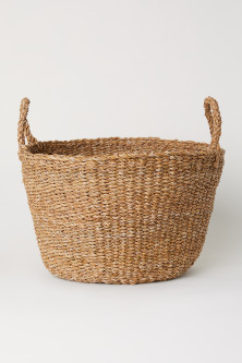 Large Braided Storage Basket