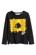 T-shirts en jersey, lot de 2 - Bleu/Lego - ENFANT | H&M BE 4