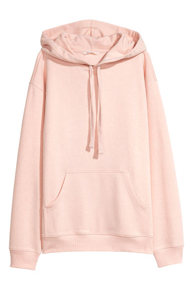 Hooded top - Powder pink -  | H&M GB