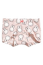 3-pack boxer briefs - Light pink/Miffy - Kids | H&M CN 3