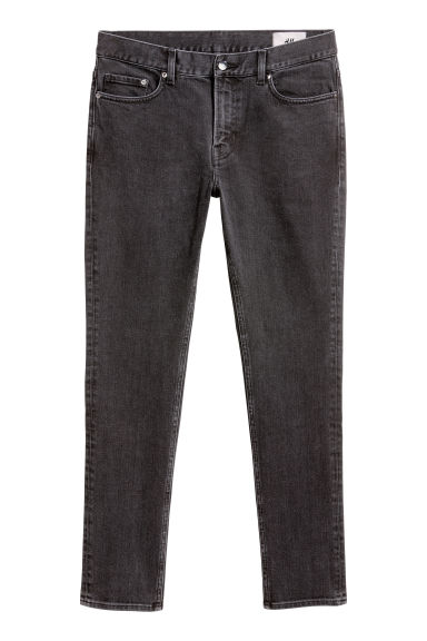 Skinny jeans - Black/Washed -  | H&M