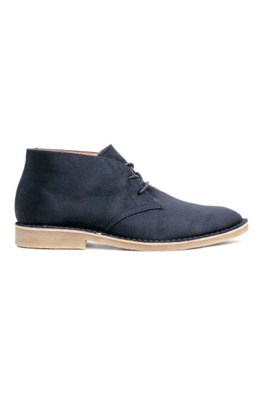 Desert boots - Dark blue - Men | H&M GB
