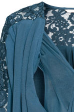 MAMA Blouse d'allaitement - Turquoise - FEMME | H&M BE 4