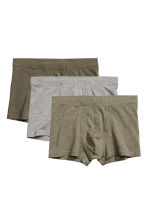 3-pack boxer shorts - Khaki green -  | H&M GB 2