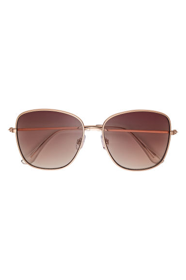 Sunglasses - Rose gold-coloured/Pink -  | H&M GB