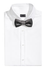 Bow tie and handkerchief - Grey/Glittery - Men | H&M CN 1