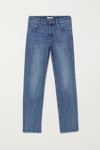 Ankle-length stretch trousers - Denim blue - Ladies | H&M GB