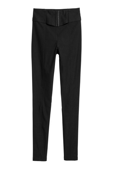 High-waisted trousers - Black - Ladies | H&M IE