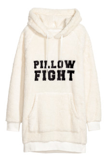 Fleece capuchonsweater