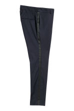 Tuxedo trousers Skinny fit - Dark blue - Men | H&M CN 3