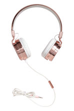 On-ear headphones - Rose gold-coloured/White - Ladies | H&M IE 1