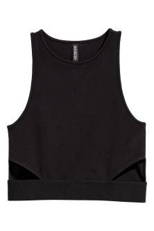 Cut-out Tank Top