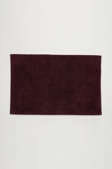 Tapis de bain - Bordeaux - Home All | H&M FR