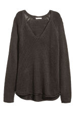 Pullover a punto largo - Grigio scuro - DONNA | H&M IT 2