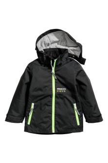Hooded shell jacket