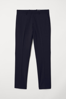 Slim fit Wool-blend Pants