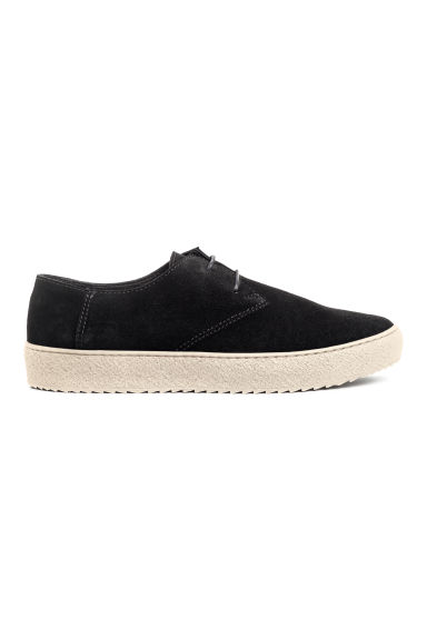 Suede shoes - Black - Men | H&M GB