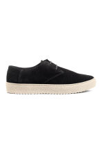 Suede shoes - Black - Men | H&M CN 1