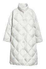 Long down jacket - Light grey - Ladies | H&M CN 2