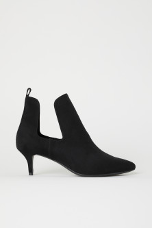 Open-sided Ankle Boots