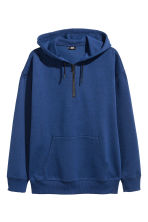Sweat à capuche avec zip - Bleu chiné -  | H&M FR 2