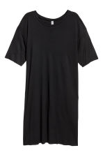 Abito a T-shirt - Nero - DONNA | H&M IT 1