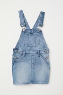 Denim salopettejurk