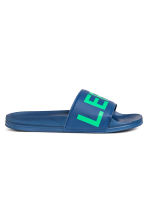 Pool shoes - Bright blue - Men | H&M 2