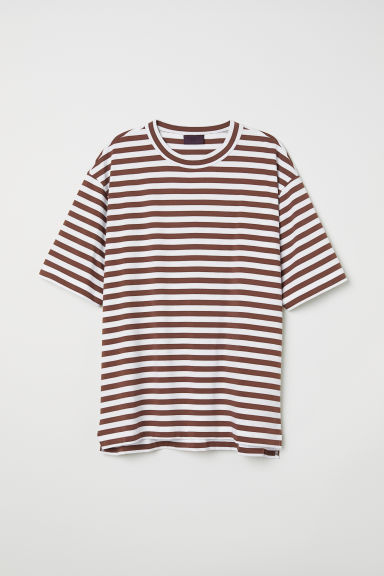 Striped T-shirt Model