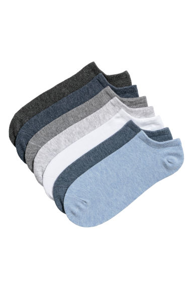 7-pack trainer socks - Grey -  | H&M