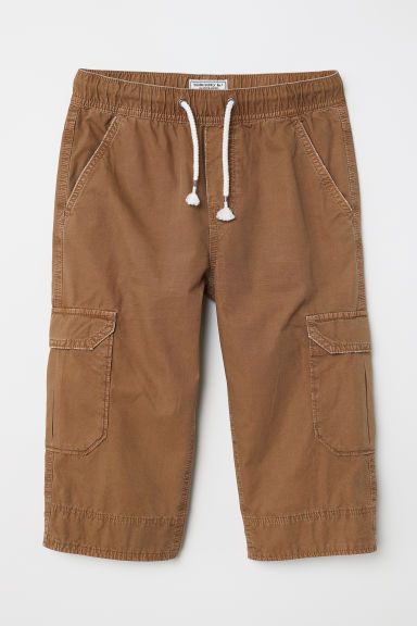 Long cargo shorts - Light brown - Kids | H&M CN