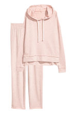 Lounge set top and bottoms - Light pink marl - Ladies | H&M 2