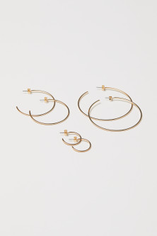 3 Pairs Earrings