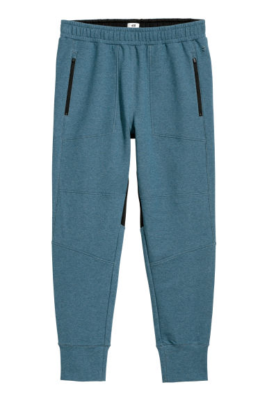 Sports trousers - Blue marl - Men | H&M GB