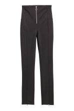 High-waisted trousers - Black - Ladies | H&M CN 2