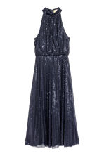 Sequined dress - Dark blue - Ladies | H&M 2