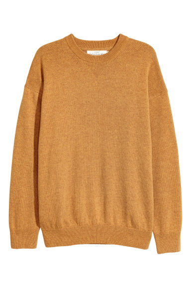 Wool-blend jumper - Lion yellow -  | H&M GB