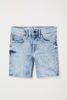 Superstretch Jeansshorts