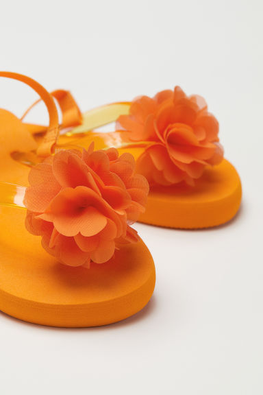 Flip-flops - Orange - Kids | H&M CN