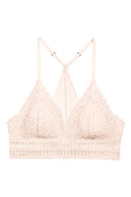 Lace bralette - Light beige - Ladies | H&M 2