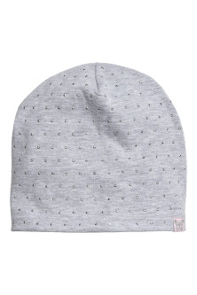 Fleece-lined jersey hat