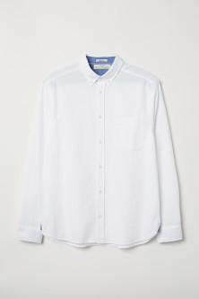 Chemise en coton Regular fit